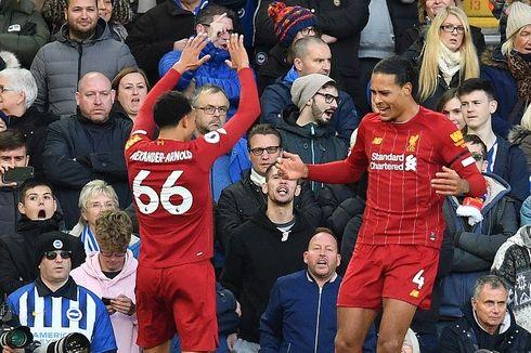 Liverpool Vs Brighton, Alisson Kartu Merah, The Reds Menang Tipis