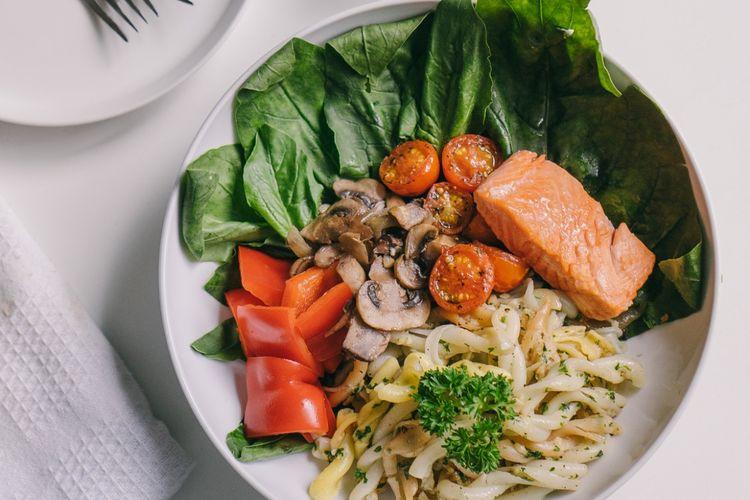 ilustrasi salad milik Serasa Salad Bar.