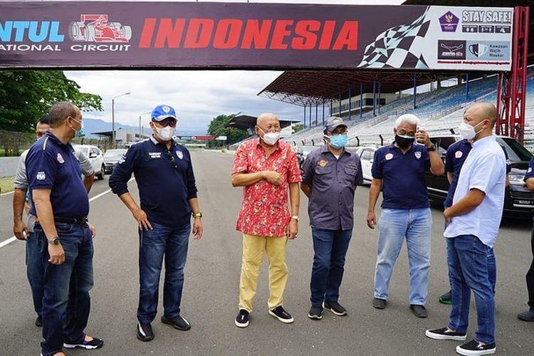 Sirkuit Sentul saat kedatangan Bambang Soesatyo pada Sabtu, 9 Januari 2021.