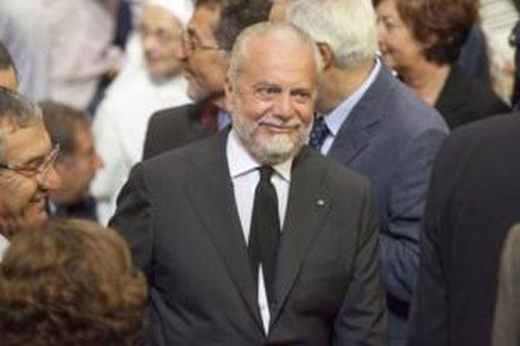 Presiden Napoli, Aurelio De Laurentiis.