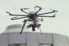 Antisipasi Kecelakaan, Pesawat Diuji Tabrakan dengan Drone