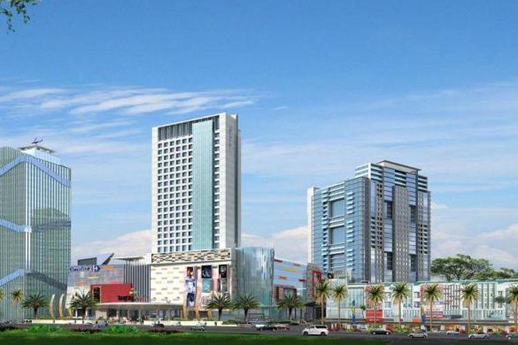 Tangerang City merupakan superblok yang menempati area seluas 10 hektar.