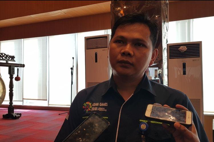 Deputi Klimatologi BMKG Adi Ripaldi saat ditemui di Kantor BNPB, Rawamangun, Jakarta Timur, Jumat (29/11/2019).
