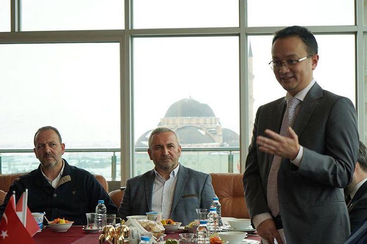Wakil Menteri Perdagangan RI, Jerry Sambuaga melakukan pertemuan dan dialog bisnis dengan 30 orang pelaku usaha Turki di Kayseri, Turki, Sabtu (1/2/2020).