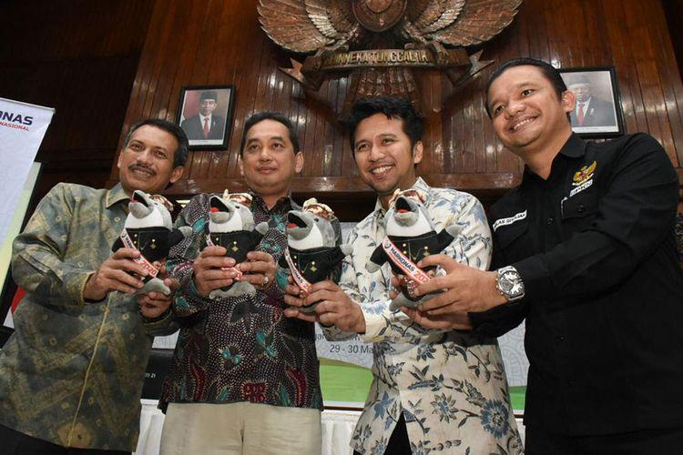 Logo dan Maskot Harkonas 2020 Diperkenalkan di Surabaya