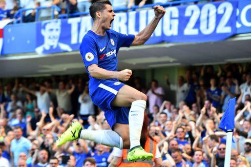 Hazard Minta Morata Mulai Cetak Gol dengan Kaki