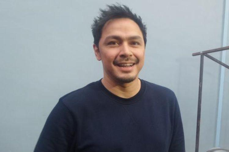 Thomas Djorghi diabadikan di Studio TransTV, Mampang, Jakarta Selatan, Senin (23/1/2017).