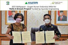 Dukung Pendidikan di Indonesia, Hyundai Engineering Bangun Infrastruktur E-Learning di Balikpapan