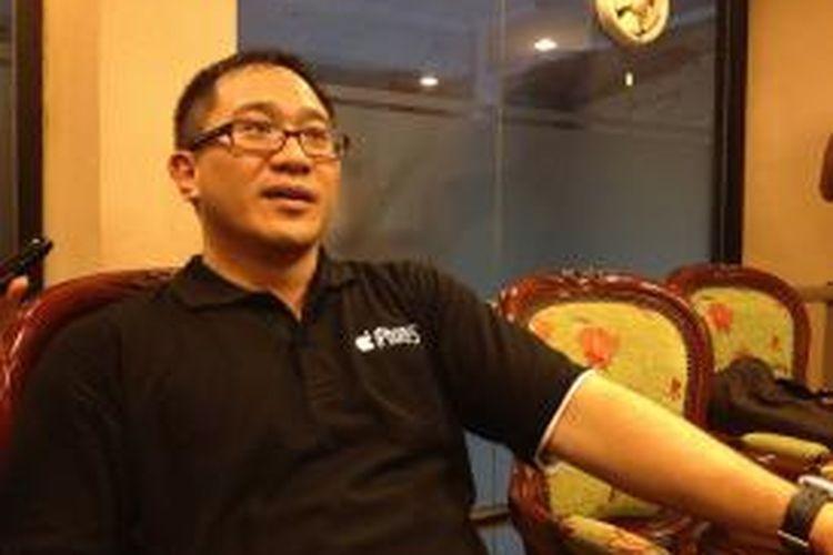 President Director CEO Indosat, Alexander Rusli