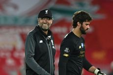 Liverpool Vs Man United, The Reds Selamat di Anfield berkat Alisson