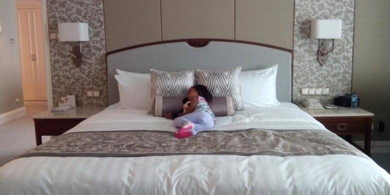 Kamar hotel di Shangri-La Hotel, Jakarta