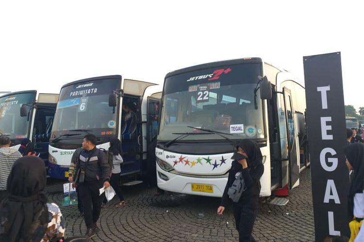 Mudik Bareng Pemda DKI Jakarta dari Monas hingga Tegal