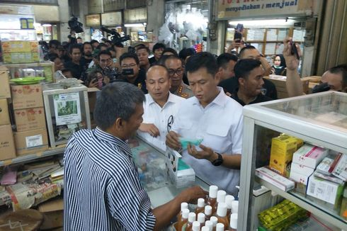 Sidak Pasar Pramuka, Polisi Temukan Harga Masker Naik 10 Kali Lipat dan Tak Sesuai SNI