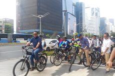 Uji Coba Jalur Sepeda Rute Fatmawati-Sudirman Dimulai Hari Ini