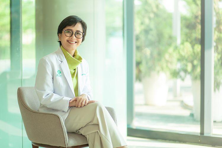 Dokter Spesialis Anak dari RS Pondok Indah Bintaro Jaya, dr A A A Putu Indah Pratiwi, Sp.A
