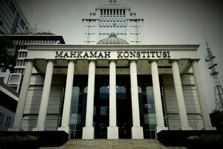 Gedung Mahkamah Konstitusi (MK), Jakarta Pusat, Selasa (10/10/2017).
