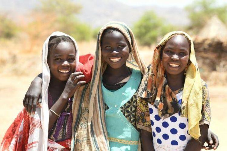 Penduduk pribumi Benua Afrika.
