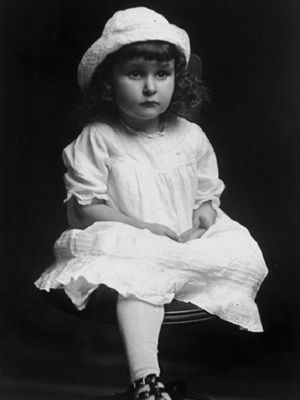 Lady Bird Johnson saat berusia tiga tahun. (Wikipedia)