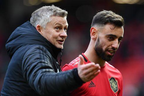 Man United Vs Watford, Pujian Solskjaer untuk Gol Perdana Fernandes