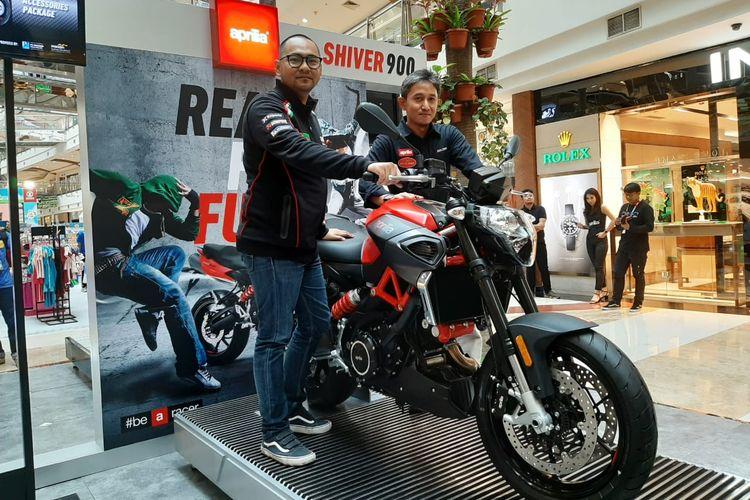 Peluncuran Aprilia Shiver 900 di Pondok Indah Mall 2