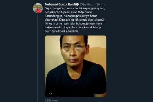 Polisi Tangkap Dua Terduga Penculik dan Pengeroyok Ninoy Karundeng
