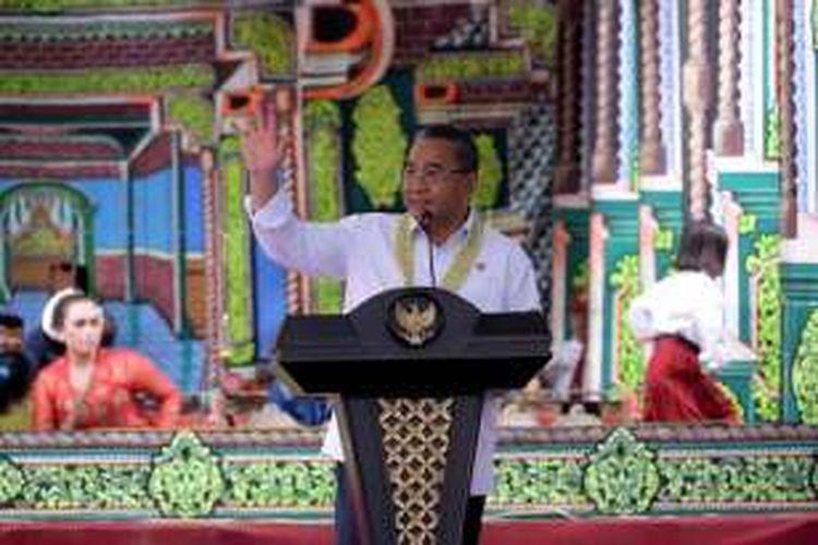 Dok Kemendesa PDTT  - Menteri Desa, Pembangunan Daerah Tertinggal, dan Transmigrasi Eko Putro Sandjojo