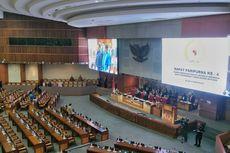 Tanpa Interupsi, Surat Jokowi soal Pemindahan Ibu Kota Dibacakan di Rapat Paripurna DPR