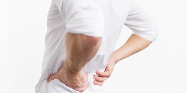 Ilustrasi sakit punggung dan pinggang