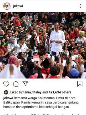 Jokowi akan lanjutkan pembangunan Tol Balikpapan-Samarinda hingga ke Bontang.