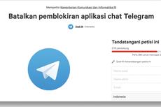 Netizen Gaungkan Petisi Tolak Pemblokiran Telegram