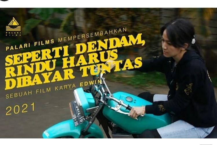 Ladya Cheryl kembali main film. Ia membintangi film Seperti Dendam, Rindu Harus Dibayar Tuntas.