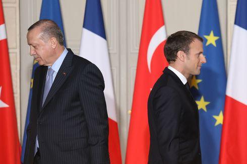 Presiden Erdogan Sebut Macron Hanya Beban Negara dan Berharap Segera Lengser