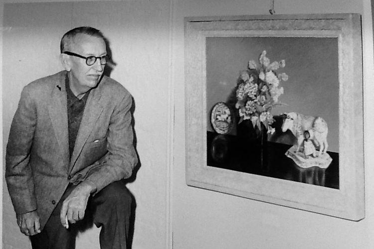 Robert Eugene Otto, pemilik pertama boneka Robert yang dikabarkan merupakan boneka berhantu.