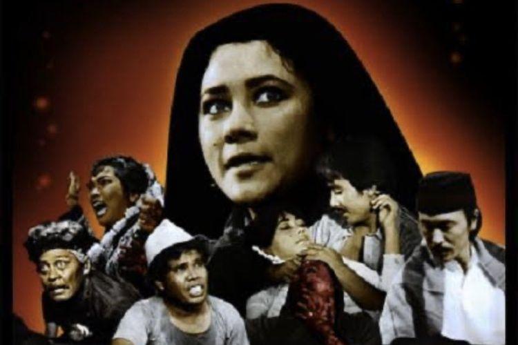 Poster film Ratu Ilmu Hitam (1981)