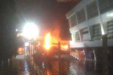 Pom Bensin Shell Daan Mogot Terbakar, Damkar Sebut 2 Orang Luka Bakar