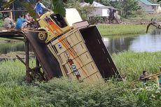 Jembatan Ambruk di Sumsel, Truk Terjun ke Sungai