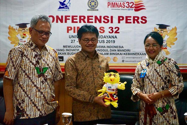 Sebanyak 1.614 ilmuwan muda akan berpartisipasi dalam Pekan Ilmiah Mahasiswa Nasional (PIMNAS) ke-32 tahun 2019 yang akan diselenggarakan 27-31 Agustus 2019 di Universitas Udayana, Kampus Unud Bukit Jimbaran, Bali.