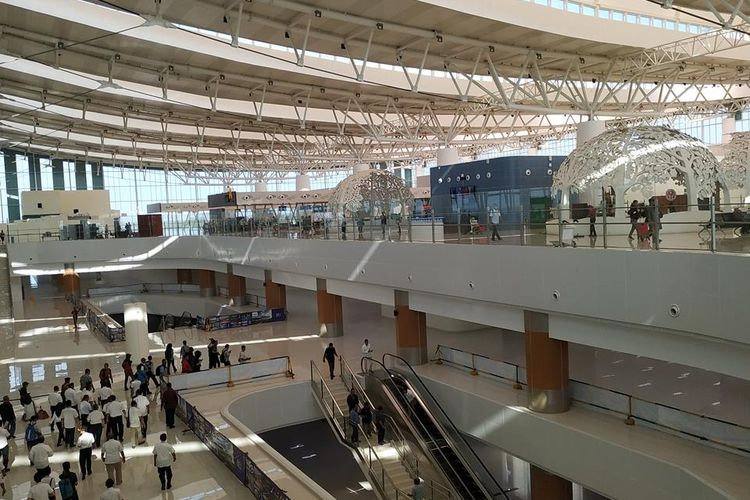 Menteri Perhubungan(Menhub) Budi Karya Sumadi akan melakukan peninjauan Bandara Internasional Jawa Barat (BIJB) Kertajati, Majalengka, Jawa Barat, Sabtu (6/7/2019).