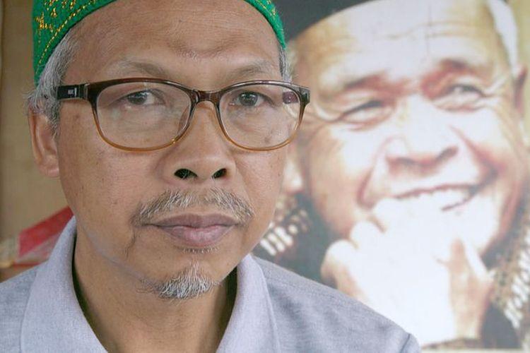 Asih menggantikan mendiang ayahnya, Mbah Maridjan, sebagai juru kunci Merapi