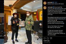 Ketika Gubernur DKI Anies dan Wagub Ariza Beda Pendapat Soal Main Skateboard di Trotoar Jakarta...