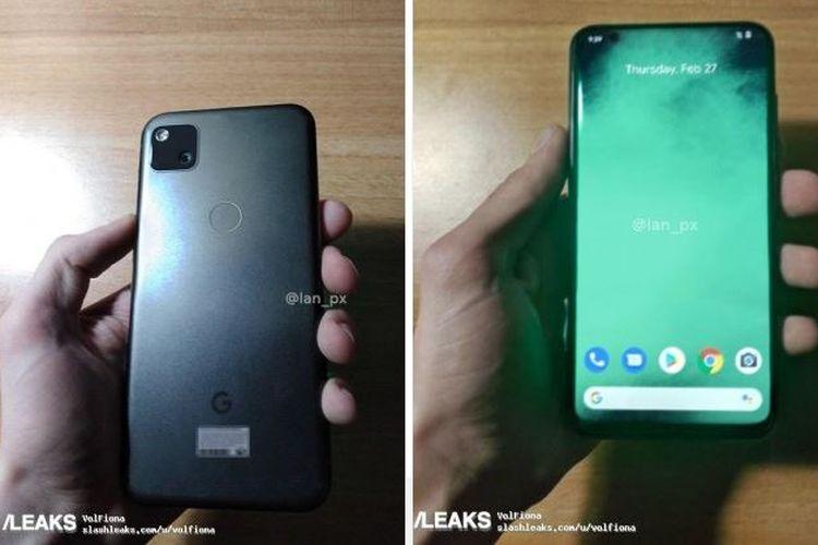 Bocoran ponsel Google Pixel 4a