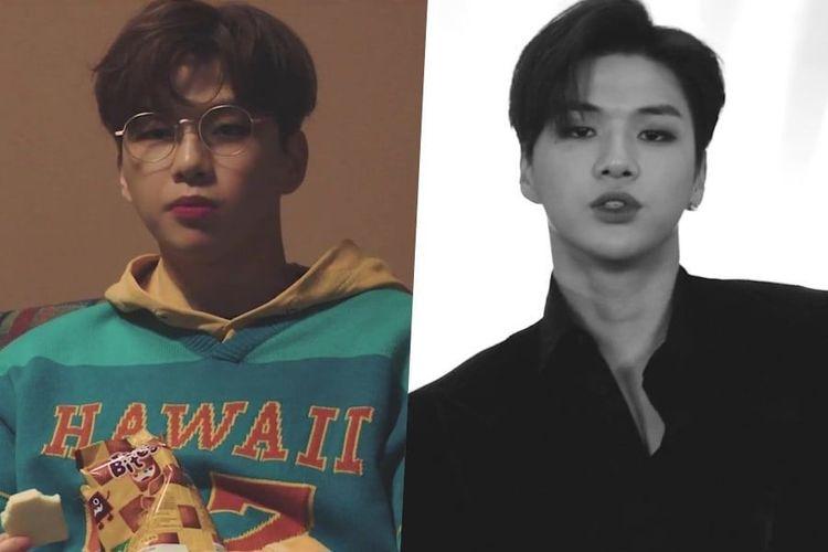 Solois Korea Selatan yang juga mantan member boyband  Wanna One, Kang Daniel.