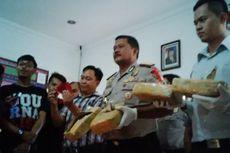 Polisi Bandung Amankan 4 Kg Ganja dari Seorang Kuli Bangunan