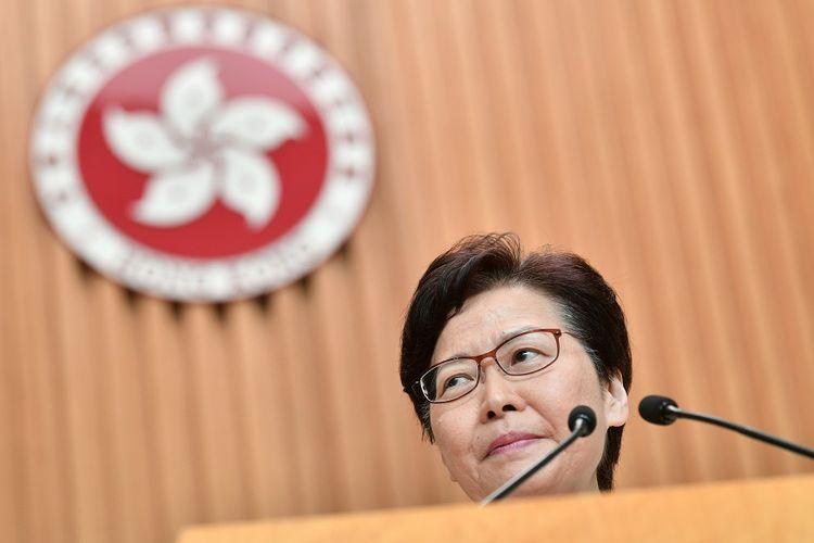 Pemimpin Eksekutif Hong Kong Carrie Lam.
