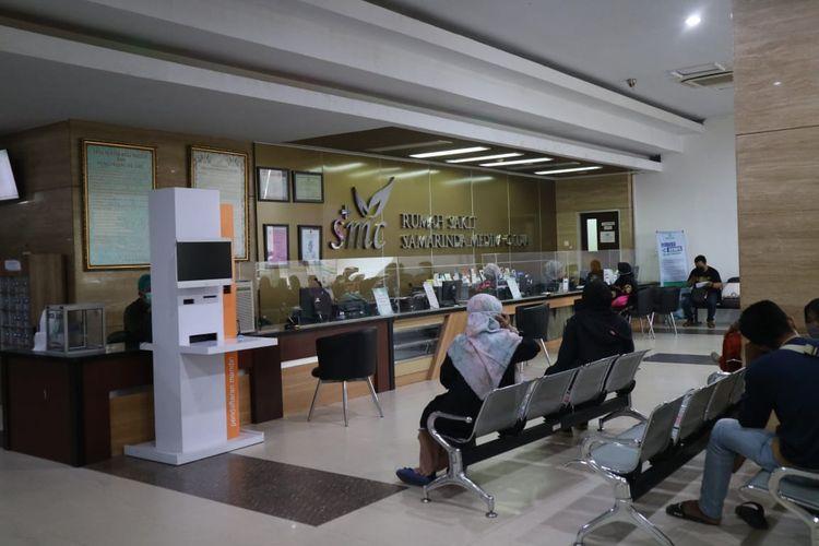 Rumah Sakit Samarinda Medika Citra (SMC) di Samarinda, Kaltim.