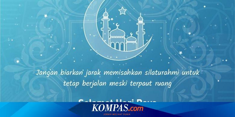 Mau Bikin Ucapan Idul Fitri, Berikut Aplikasi, Situs, dan Caranya - Tekno Kompas.com