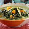 Resep Bobor Daun Singkong Labu Kuning, Bikin Sayur Jadi Lembut