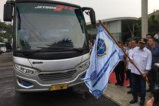Sopir Angkot Protes Kehadiran Bus Premium di Cileungsi