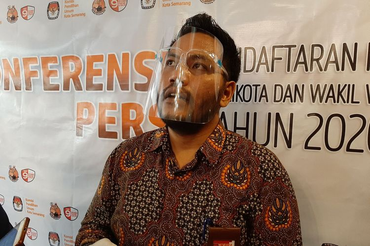 Ketua KPU Kota Semarang Henry Casandra Gultom