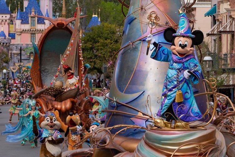 Ilustrasi Disneyland.